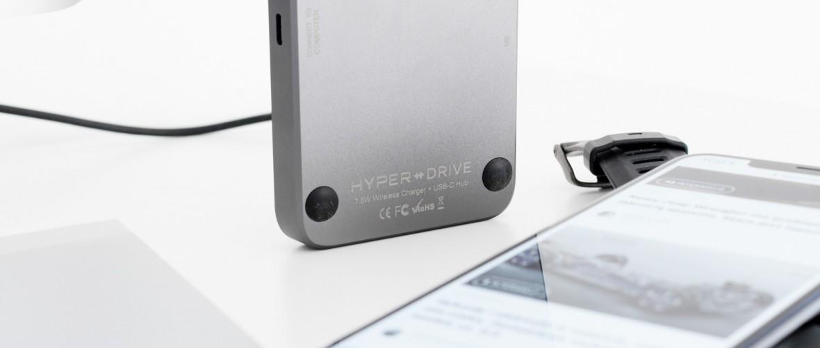 Rozwiązanie wszystkich problemów z USB-C. HyperDrive 7.5W Wireless Charger USB-C Hub – recenzja