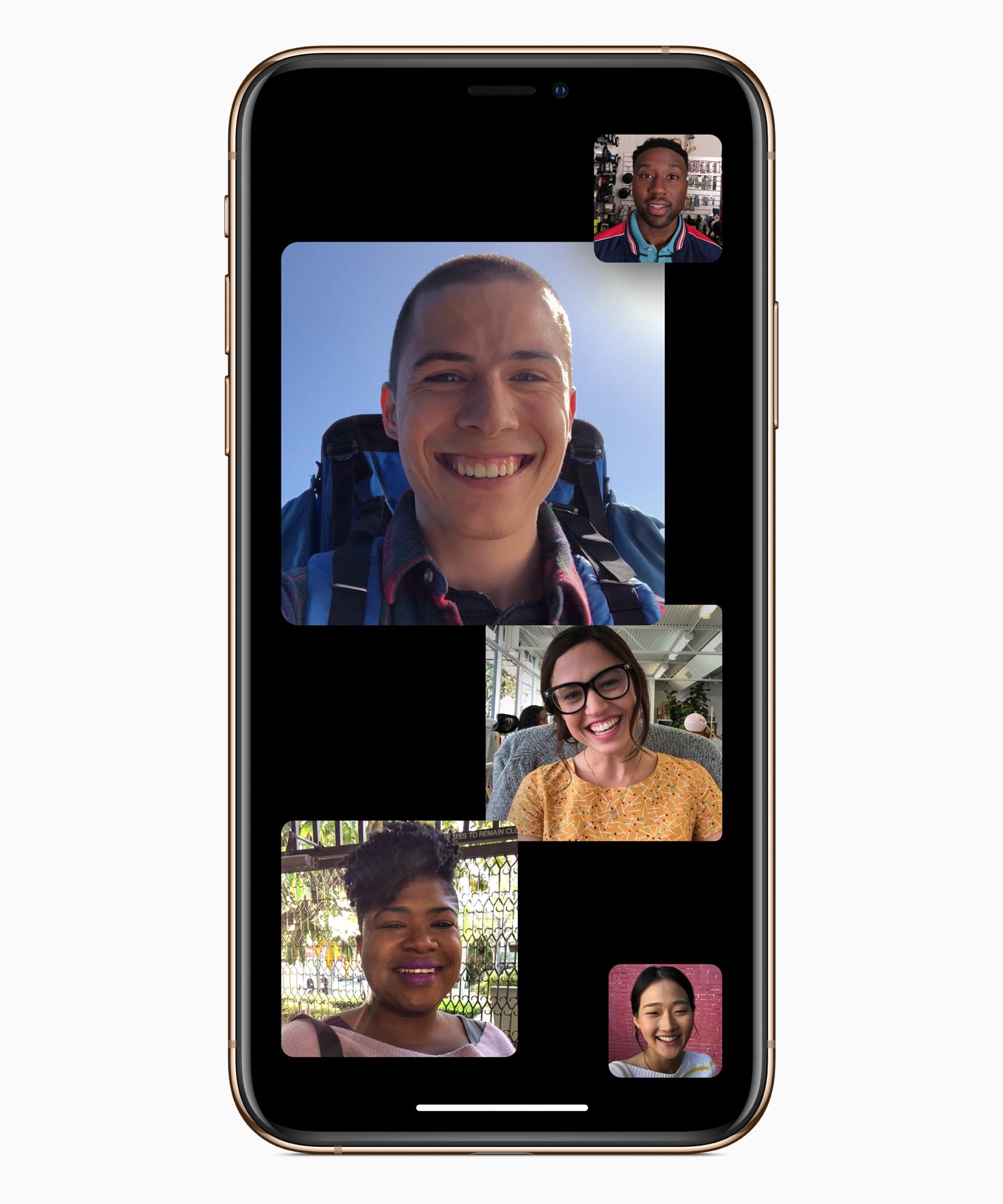 W iOS 12.1 skorzystamy z grupowych połączeń przez FaceTime