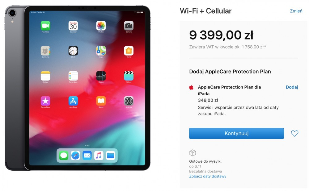 iPad Pro polska cena
