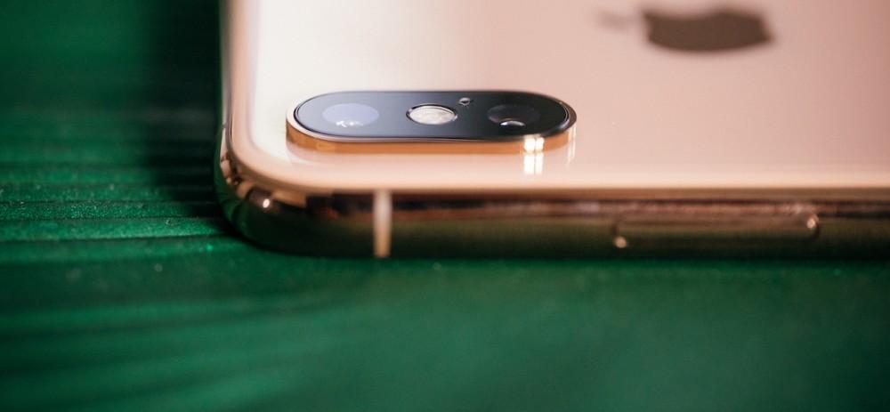 iphone xs aparat