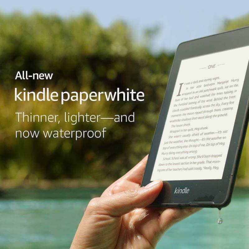 kindle paperwhite 4 generacji 2018 czytnik e-bookow amazon 2