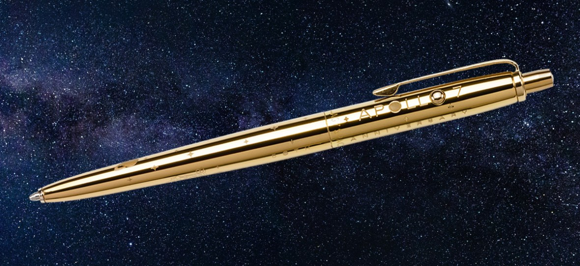 Kosmiczny długopis ma już 50 lat. Jak powstało narzędzie do pisania, którego można używać poza Ziemią?