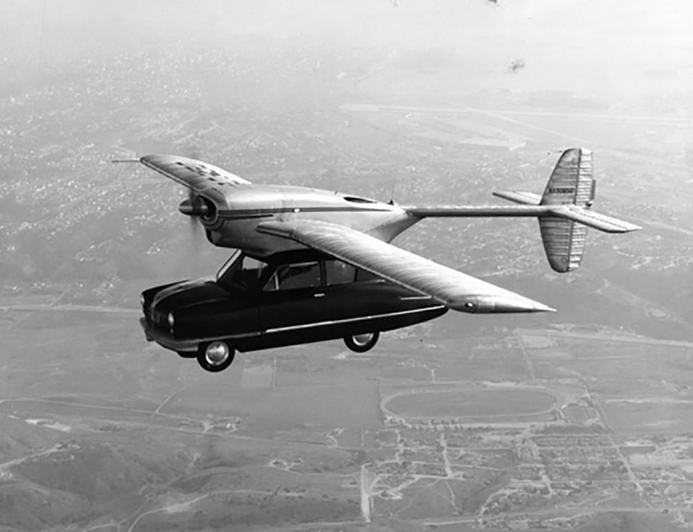 latający samochód convair
