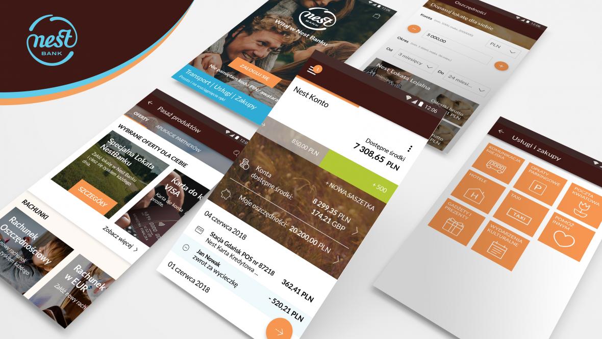 Nest Bank zmienia się na lepsze. Nowa aplikacja to dopiero początek – bank zaoferuje nowe usługi we współpracy z partnerami