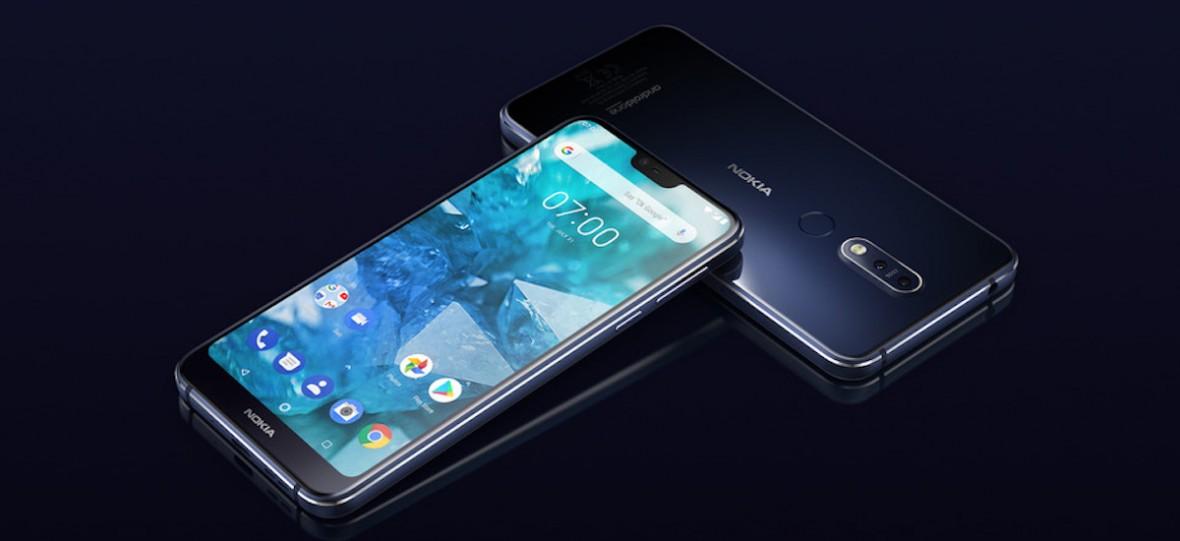 Nokia 7.1 oficjalnie. Nowy smartfon Finów kusi wyświetlaczem PureDisplay