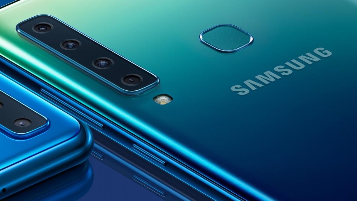 Kolejno odlicz. Samsung prezentuje Galaxy A9 z pięcioma obiektywami