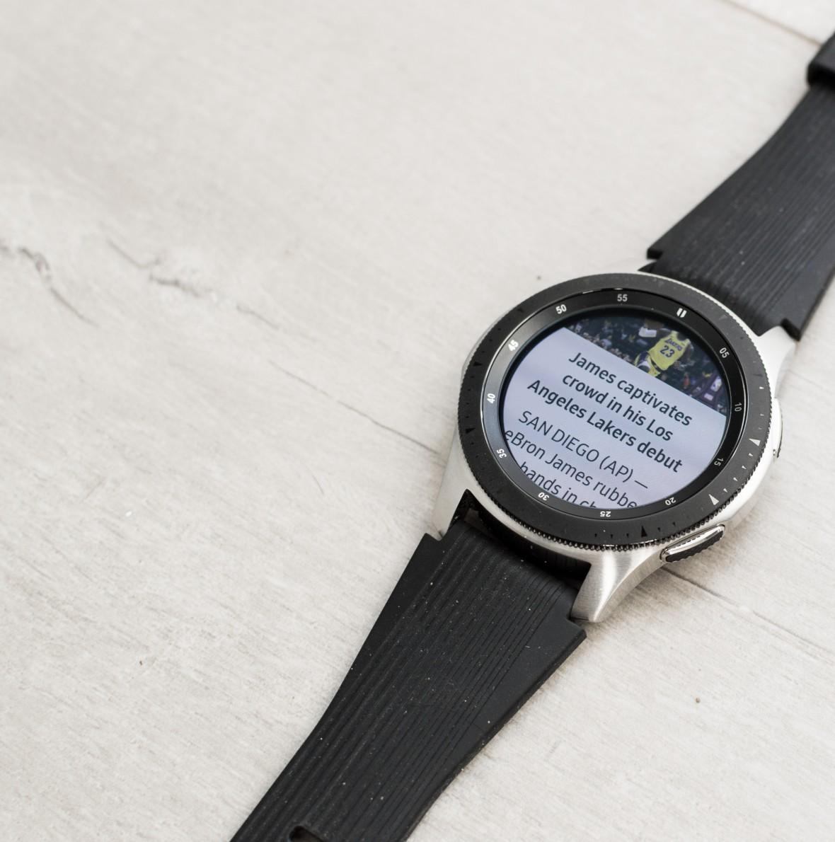 Malymi Krokami Do Perfekcji Samsung Galaxy Watch Recenzja