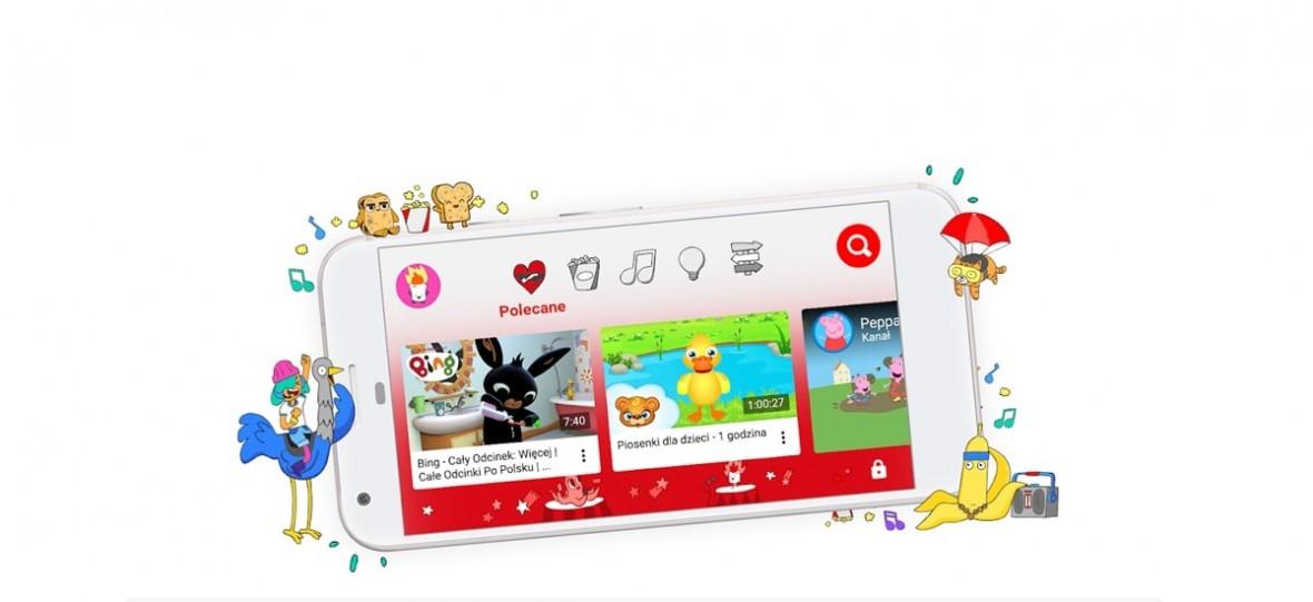 Internet stał się właśnie trochę przyjaźniejszym miejscem dla dzieci. YouTube Kids oficjalnie w Polsce
