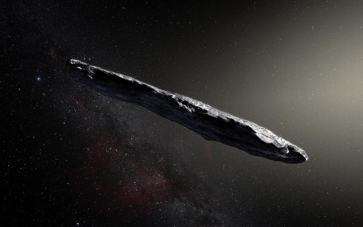 Asteroida w kształcie cygara jest nietypowa pod każdym względem. O ile założymy, że to obiekt naturalny