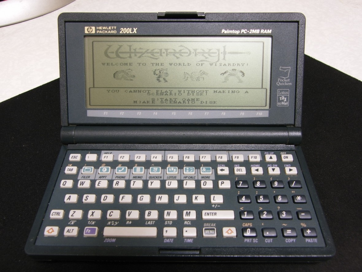 To były czasy. Kiedy używaliśmy palmtopów i przeglądaliśmy strony internetowe zapisane offline
