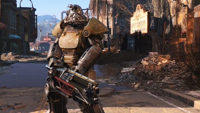 Fallout 4 brotherhood of steel