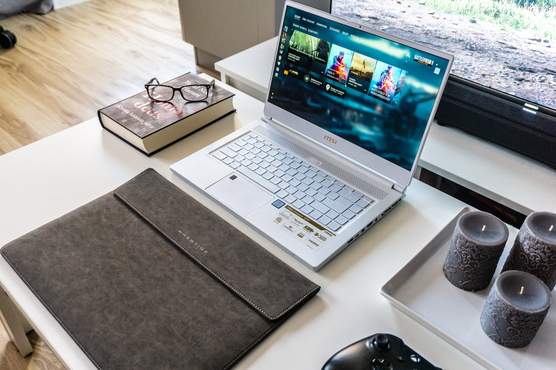 Recenzja MSI P65 Creator - najładniejszy laptop do gier 2018 r.