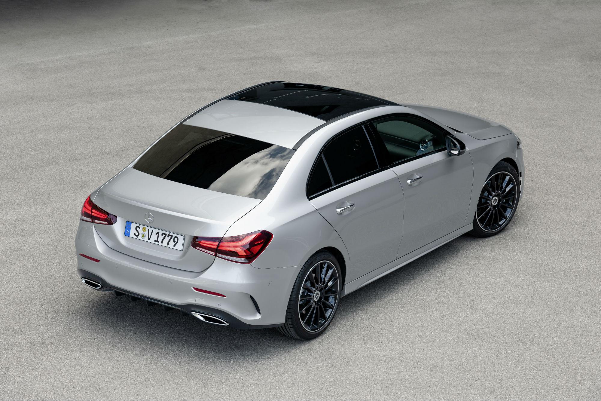 Mercedes klasy A MBUX