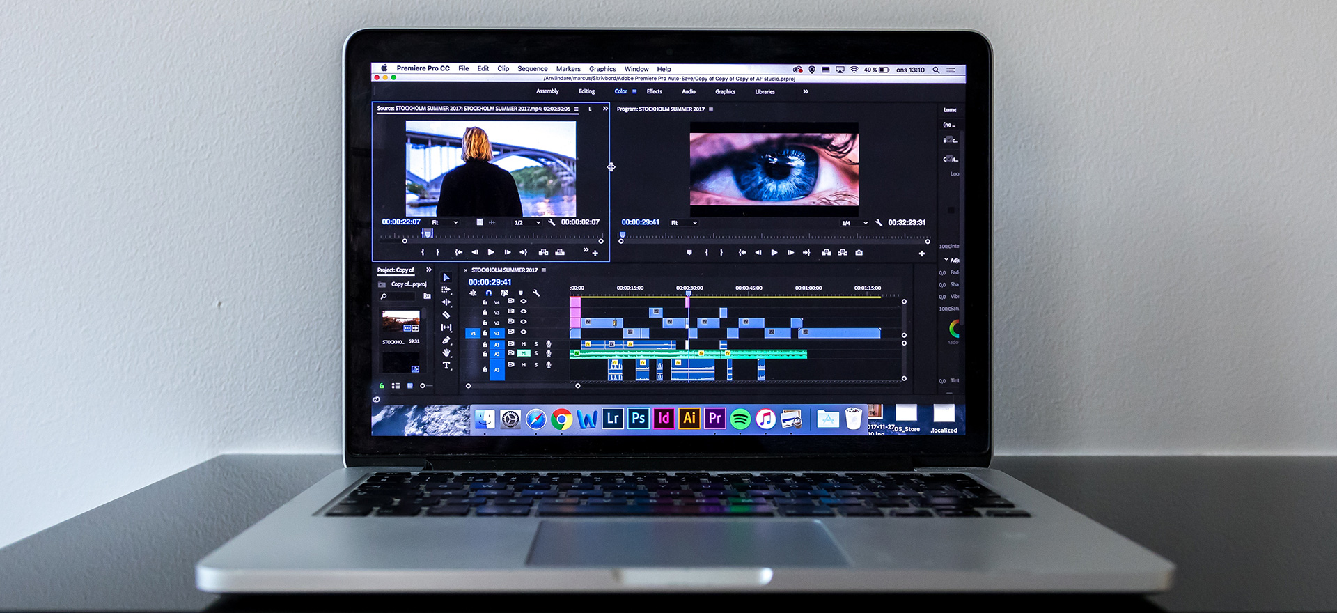 The feature known from Photoshop will work in movies  You can now delete  unwanted items from recordings