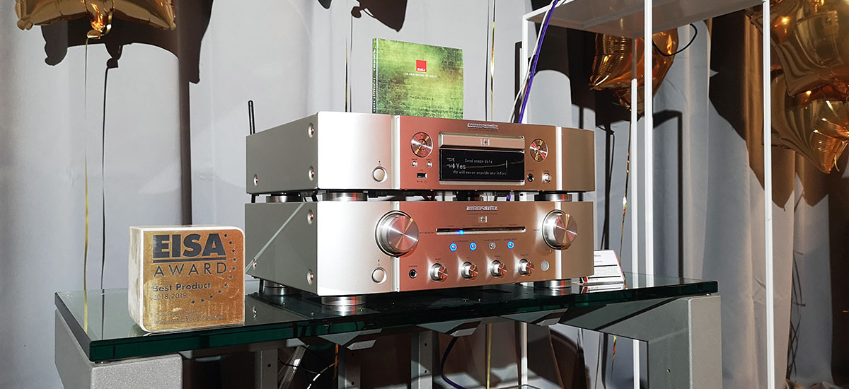 Rich. Marantz SA-KI Ruby player with autographed by Ken Ishiwata and a ruby at the top