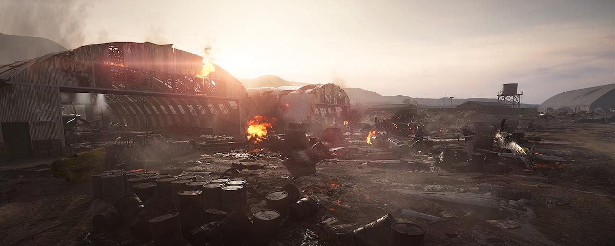 battlefield v 3 afryka 2 aerodrom 2