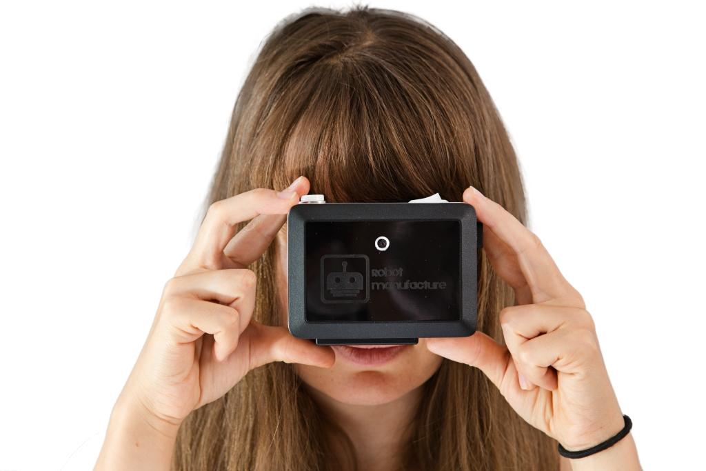 Blindtouch, aparat dla niewidomych. Fot. Robot Manufacture