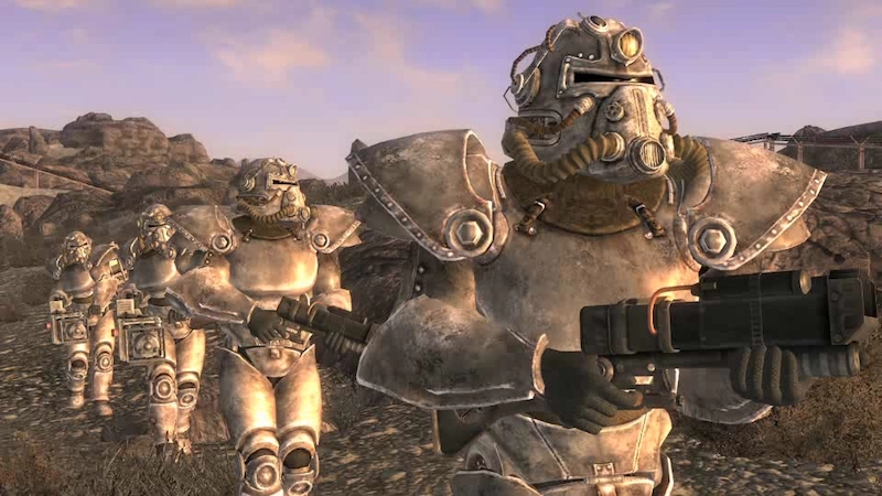 fallout new vegas brotherhood of steel