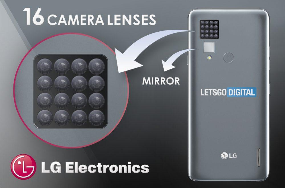 LG 16 obiektywów patent