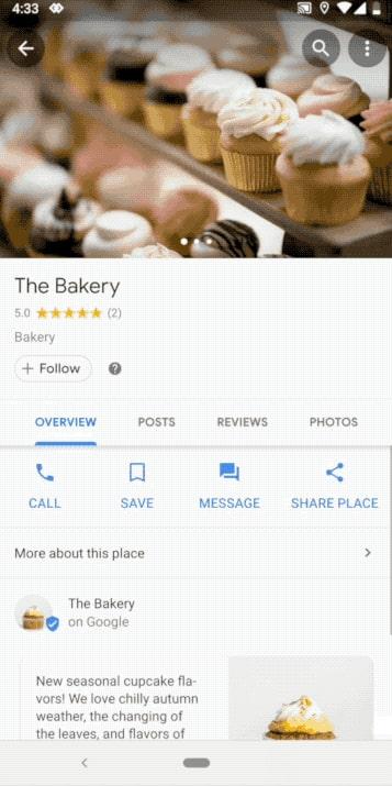 Jak wysłać wiadomość w Mapach Google