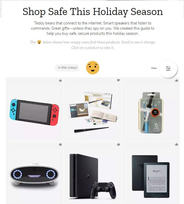 Mozilla podpowiada, jaki bezpieczny prezent pod choinkę kupić