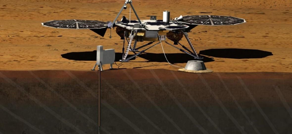 Siedem minut grozy za nami. Sonda InSight z polskim Kretem wylądowała na Marsie