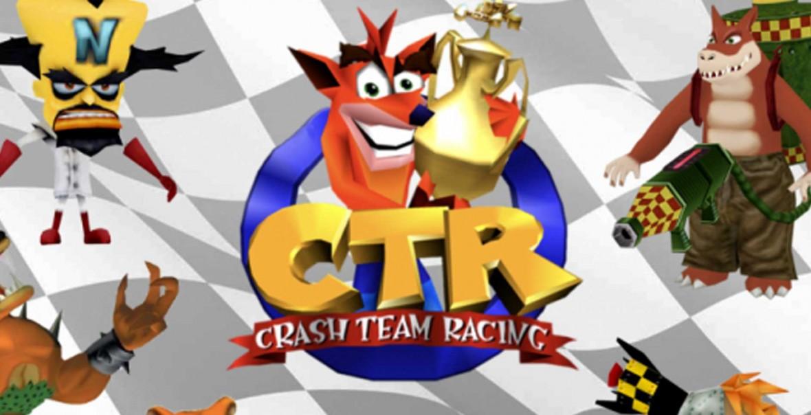 Para futrzanych kostek rozpala nadzieje na remaster Crash Team Racing