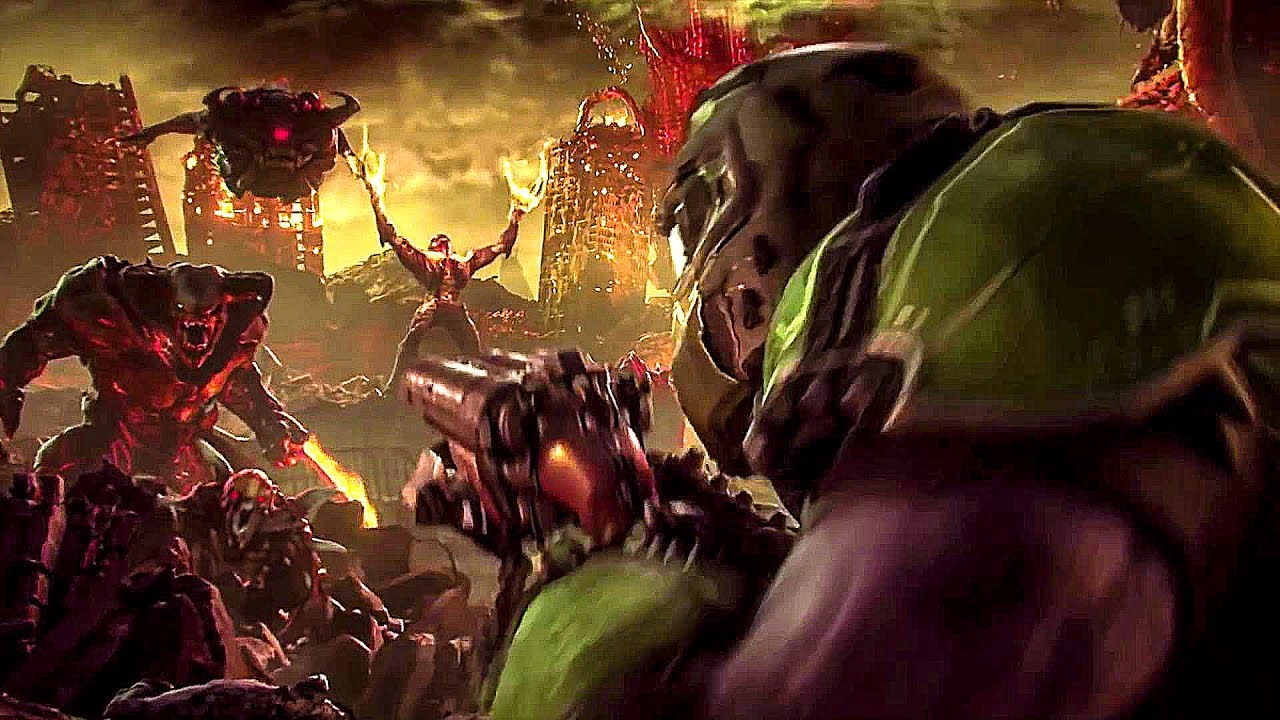 I was wrong. DOOM is a miracle, and now I am looking forward to DOOM Eternal. I can not wait ... plot