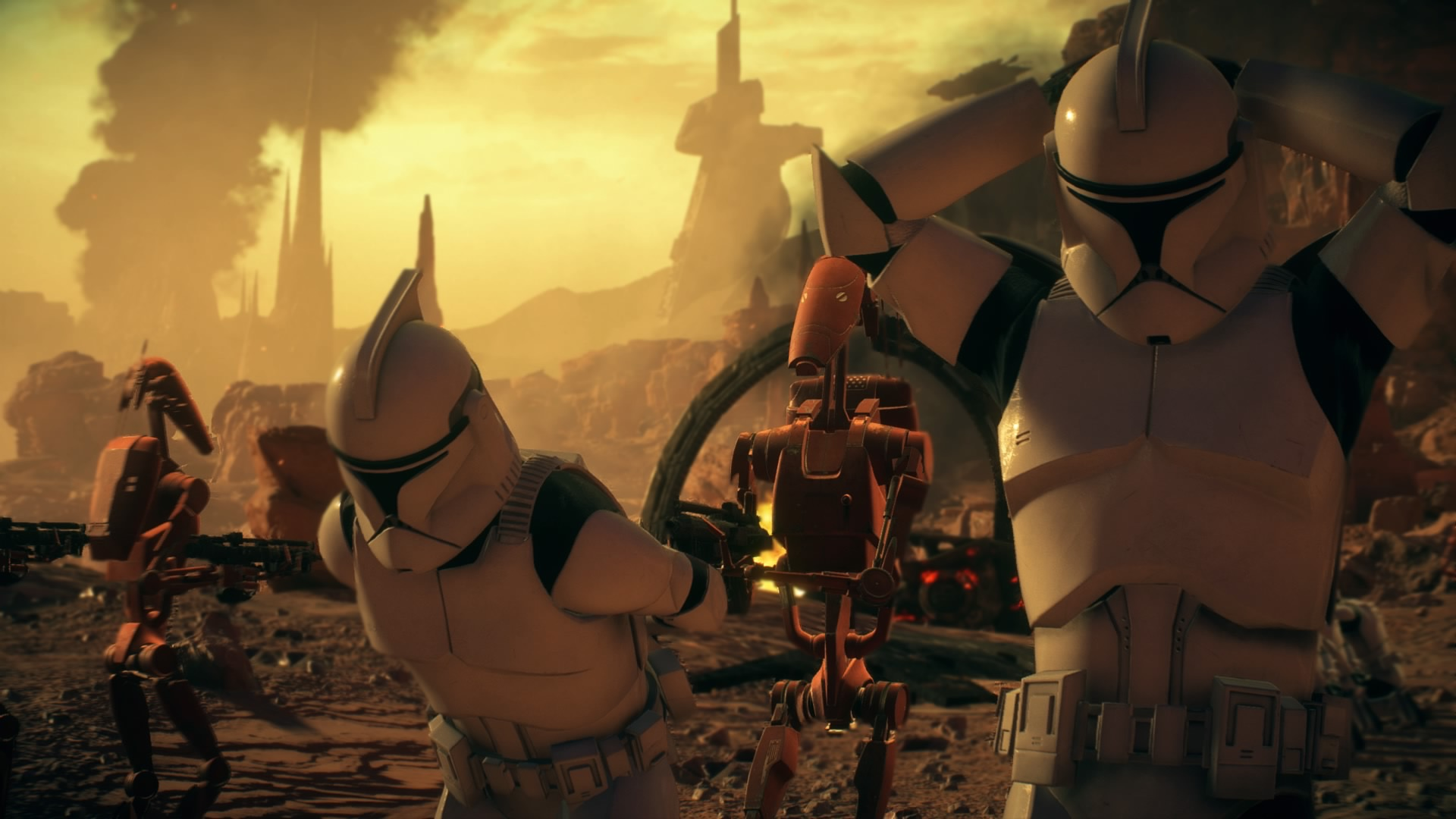 Geonosis Gets To Battlefront Ii A Supposedly Iconic Location But