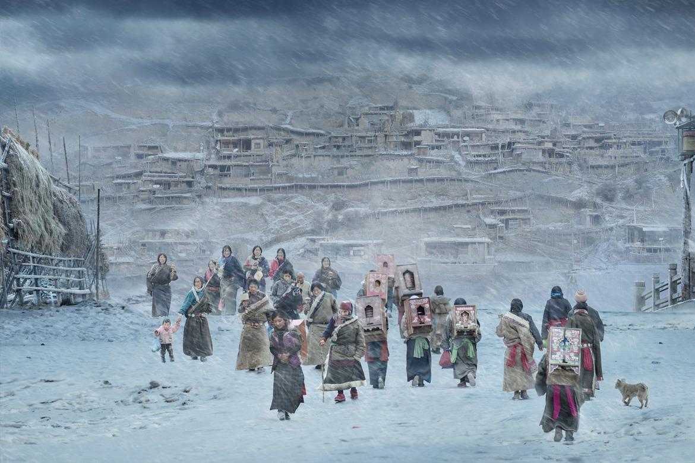 Fot. He Jian, zwycięzca w kategorii pojedynczej Hot/Cold / Travel Photographer of the Year 2018