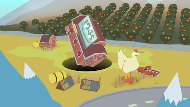 app store top 2018 gra iphone Donut County