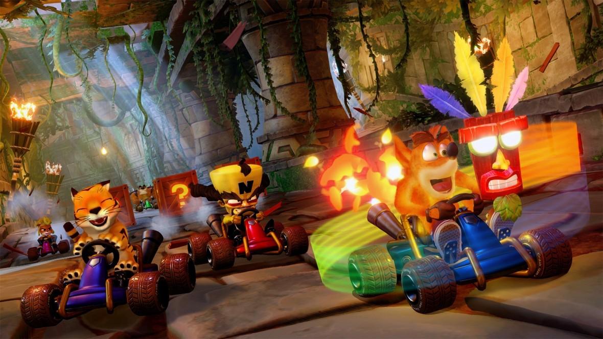 Crash Bandicoot daje gazu! Crash Team Racing: Nitro-Fueled na pierwszym zwiastunie