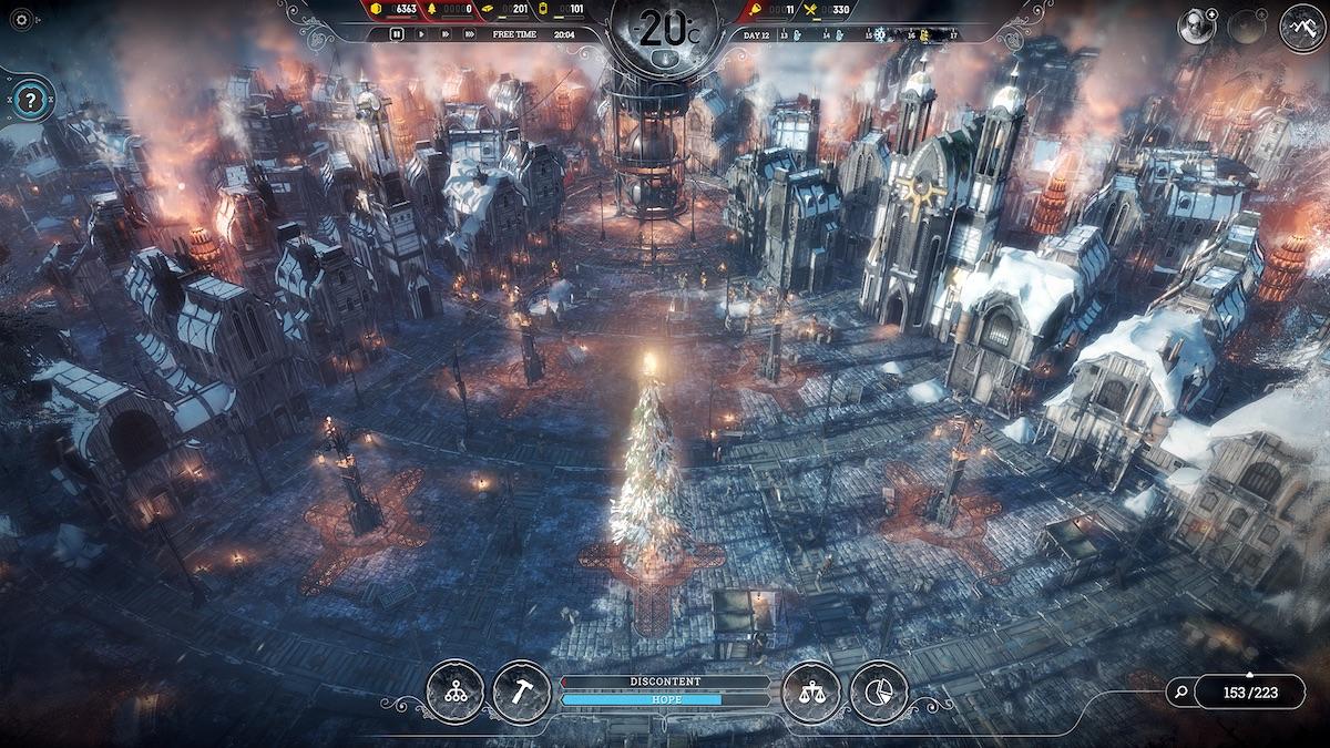 frostpunk: opowieść wigilijna dodatek dlc święta 2018 11 bit studios