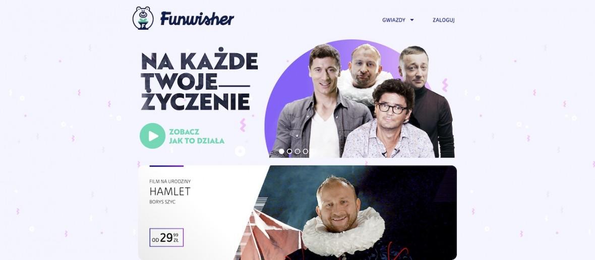 Funwisher, czyli życzenia od Lewandowskiego i Wojewódzkiego dla kogo tam chcesz – nowy biznes Kuźniara