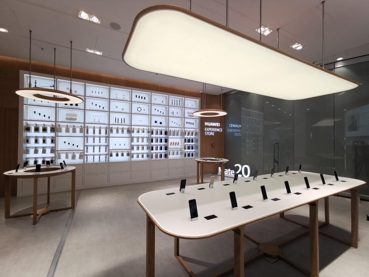 Tak wygląda pierwszy sklep firmowy Huawei w Polsce