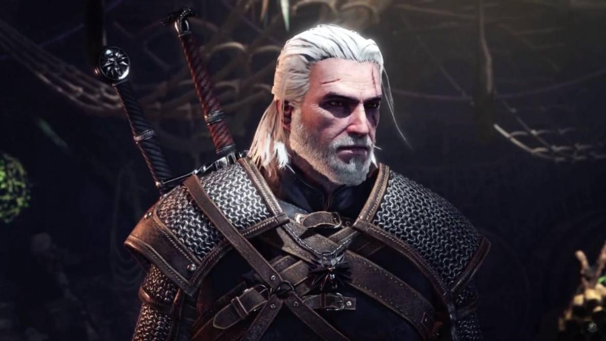 Wiedźmin włóczy się po świecie. Geralt pomoże w polowaniu na potwory w Monster Hunter: World