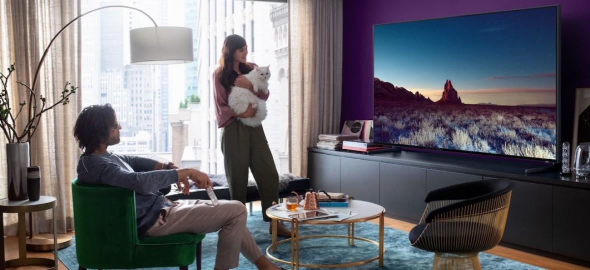 Telewizor to nie tylko matryca i pilot. Samsung QLED 8K długo będzie czekał na rywala, który dorówna mu wygodą