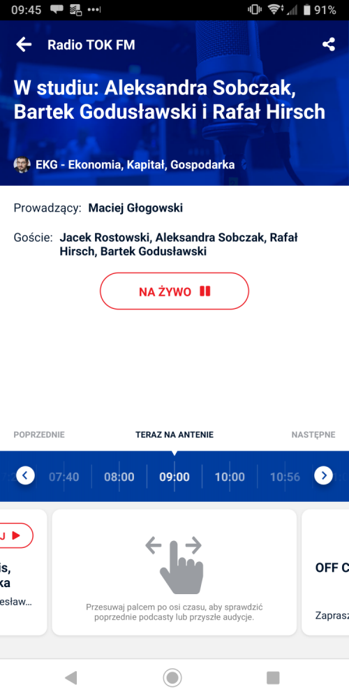 Nowa aplikacja TOK FM