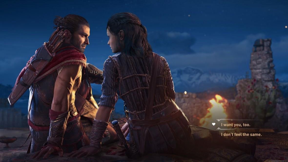 Nowe DLC do Assassin's Creed: Odyssey unieważnia homoseksualnego protagonistę