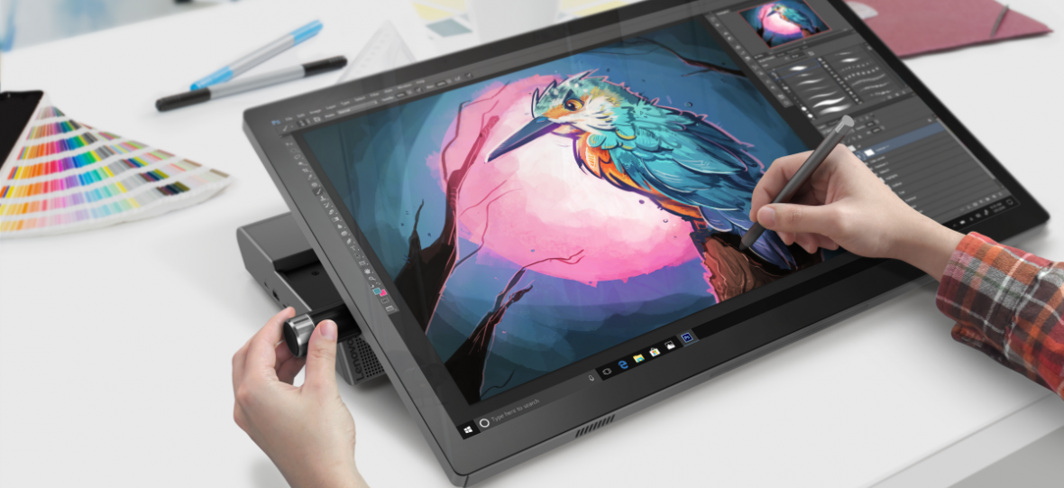 Surface Studio w wykonaniu Lenovo zapiera dech (nie tylko ceną). Nowe komputery Yoga prezentują się naprawdę obiecująco