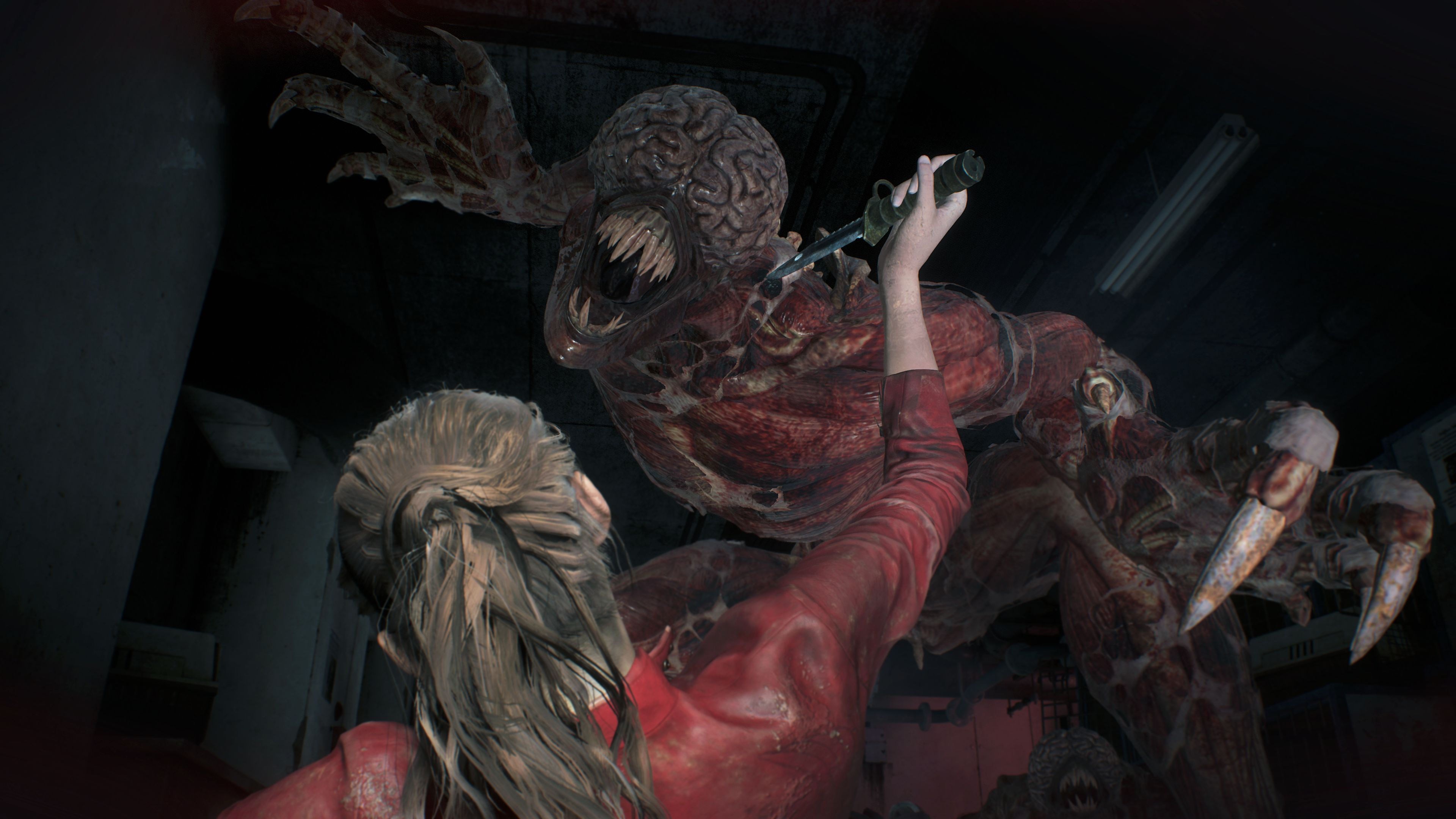 Resident Evil 2: Nie przyzwyczajaj się do noża. Broń biała ulega zniszczeniu.