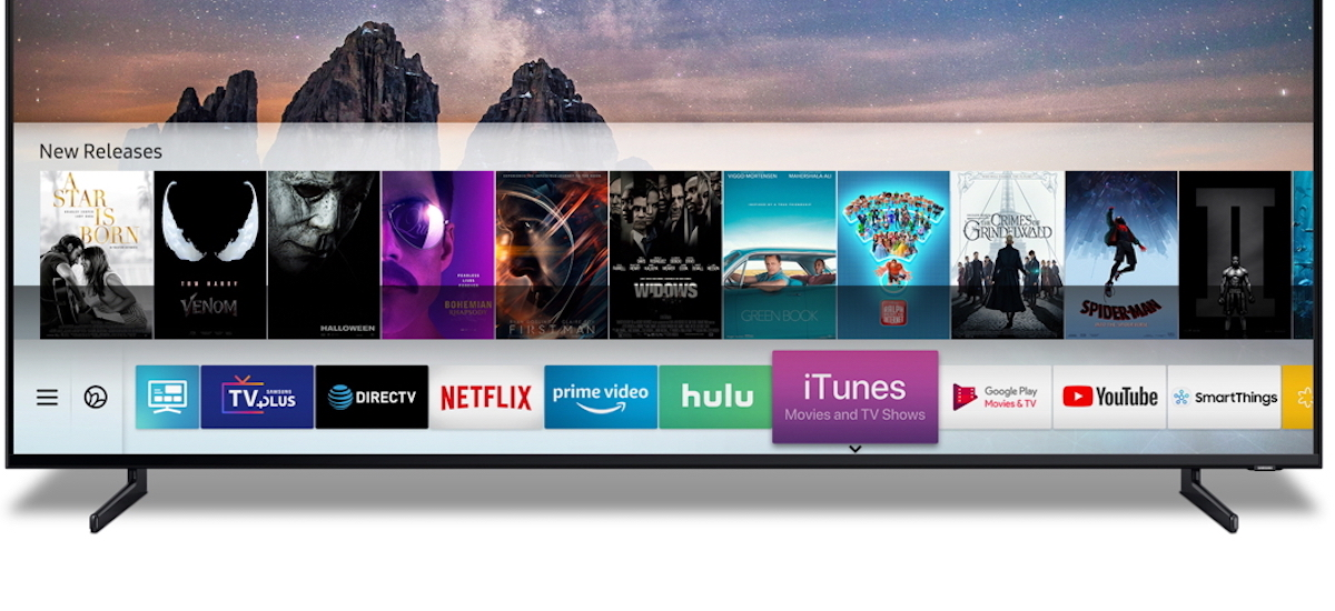 Hell freezes  Movies from the iTunes Store and support for AirPlay 2  directly on Samsung Smart TV