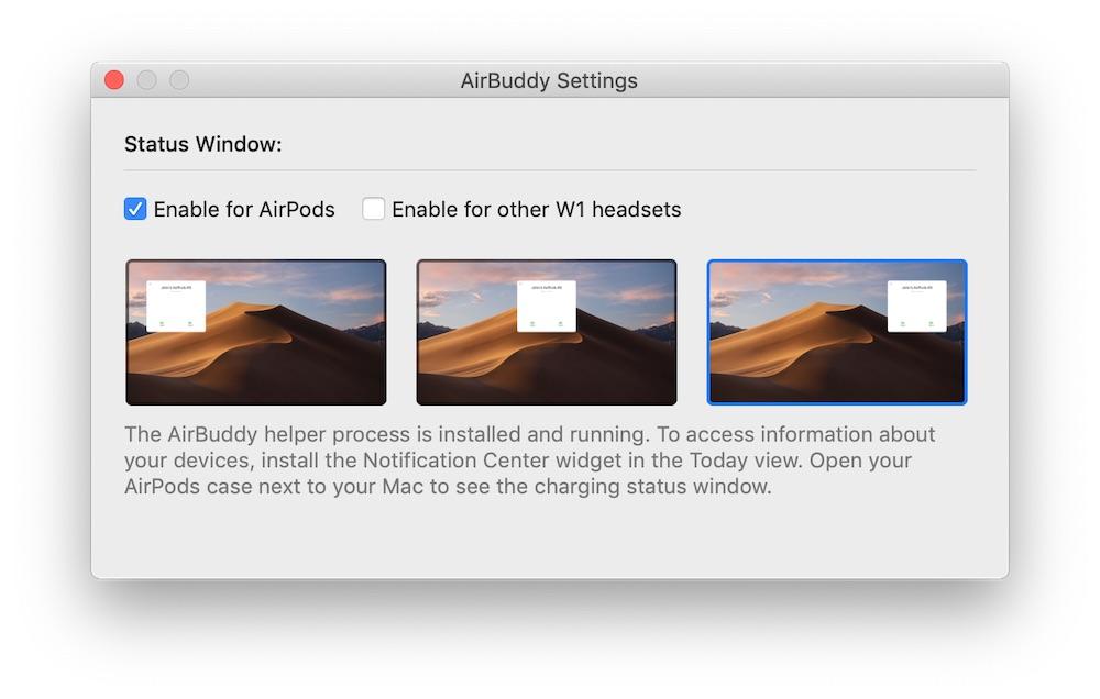 airbuddy airpods macOS mac aplikacja 1
