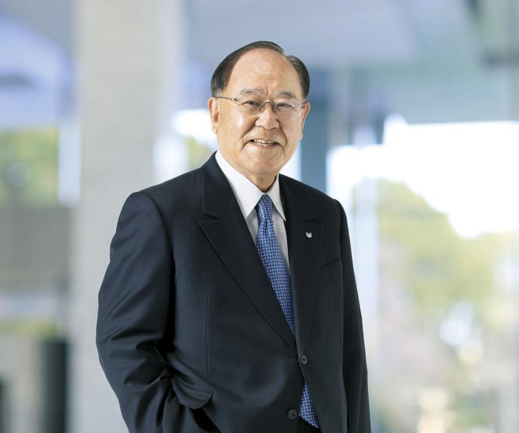 Fujio Mitarai, CEO firmy Canon. Fot. Canon