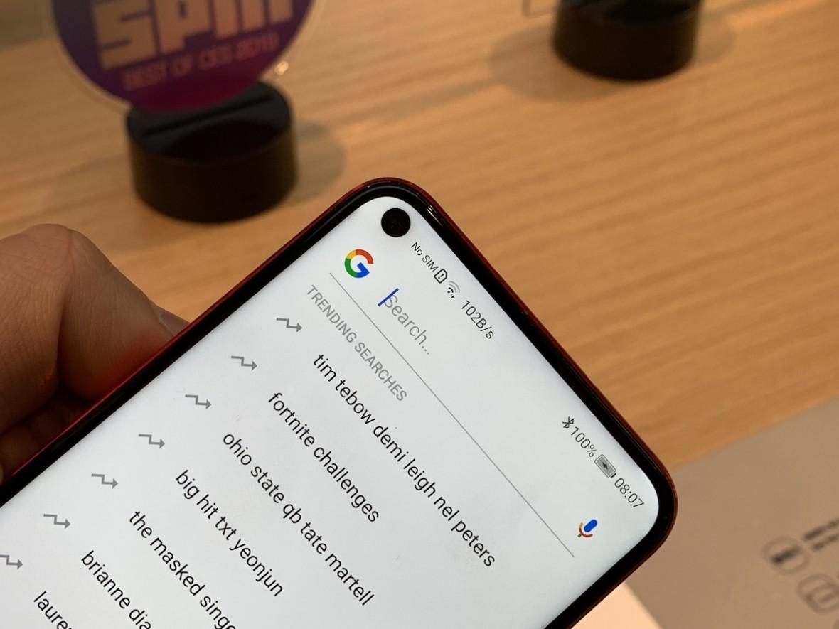 Chińczycy idą drogą Samsunga, a nie Apple'a. Honor View 20 z wycięciem w ekranie zamiast notcha – pierwsze wrażenia