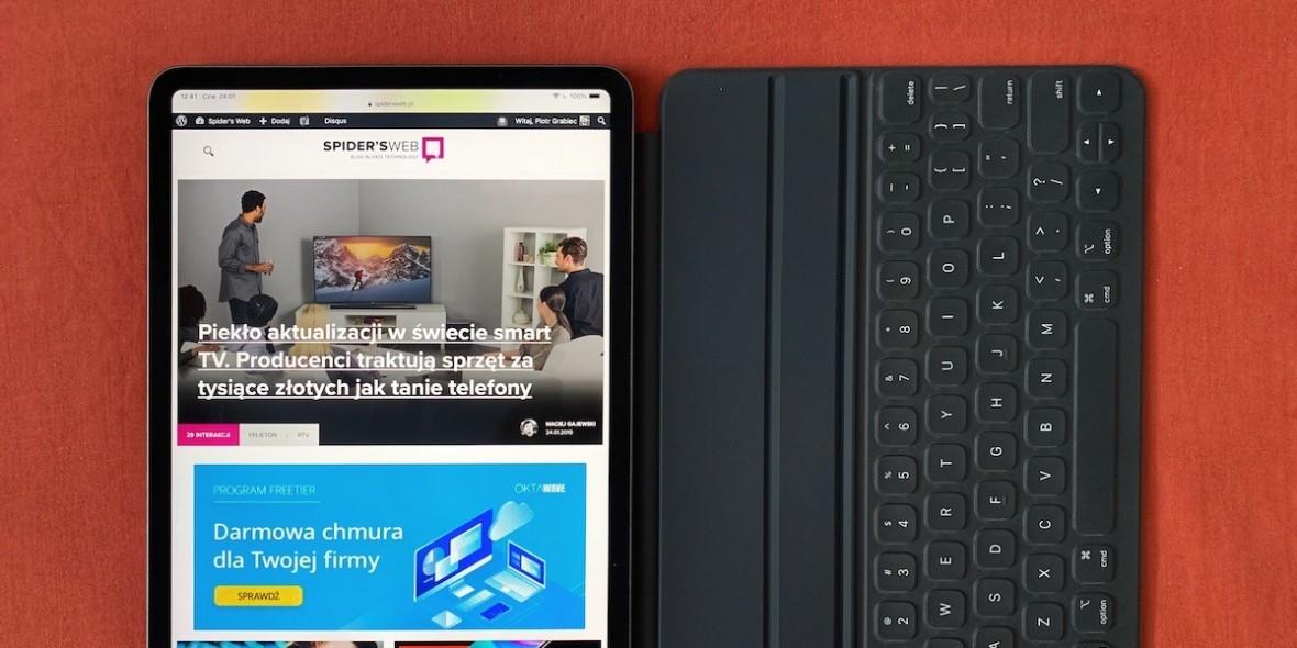 Kupiłem Smart Keyboard Folio dla nowego iPada Pro. I chcę o tym błędzie jak najszybciej zapomnieć