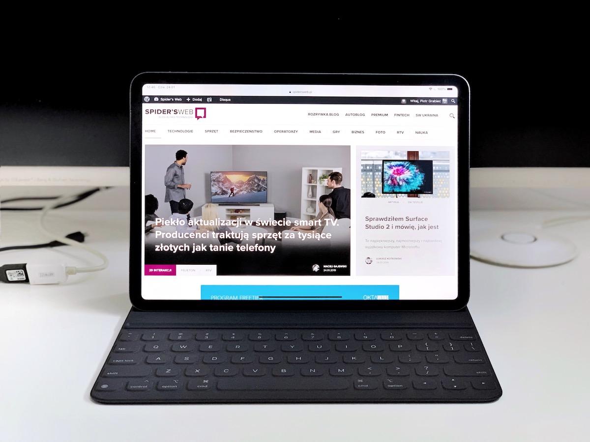 czy możesz podłączyć klawiaturę do iPada?