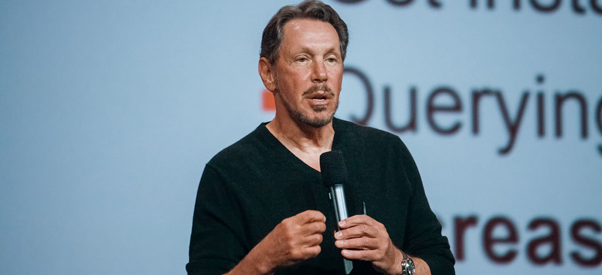 He began by creating a database for the CIA. What is Larry Ellison doing today, Oracle founder?