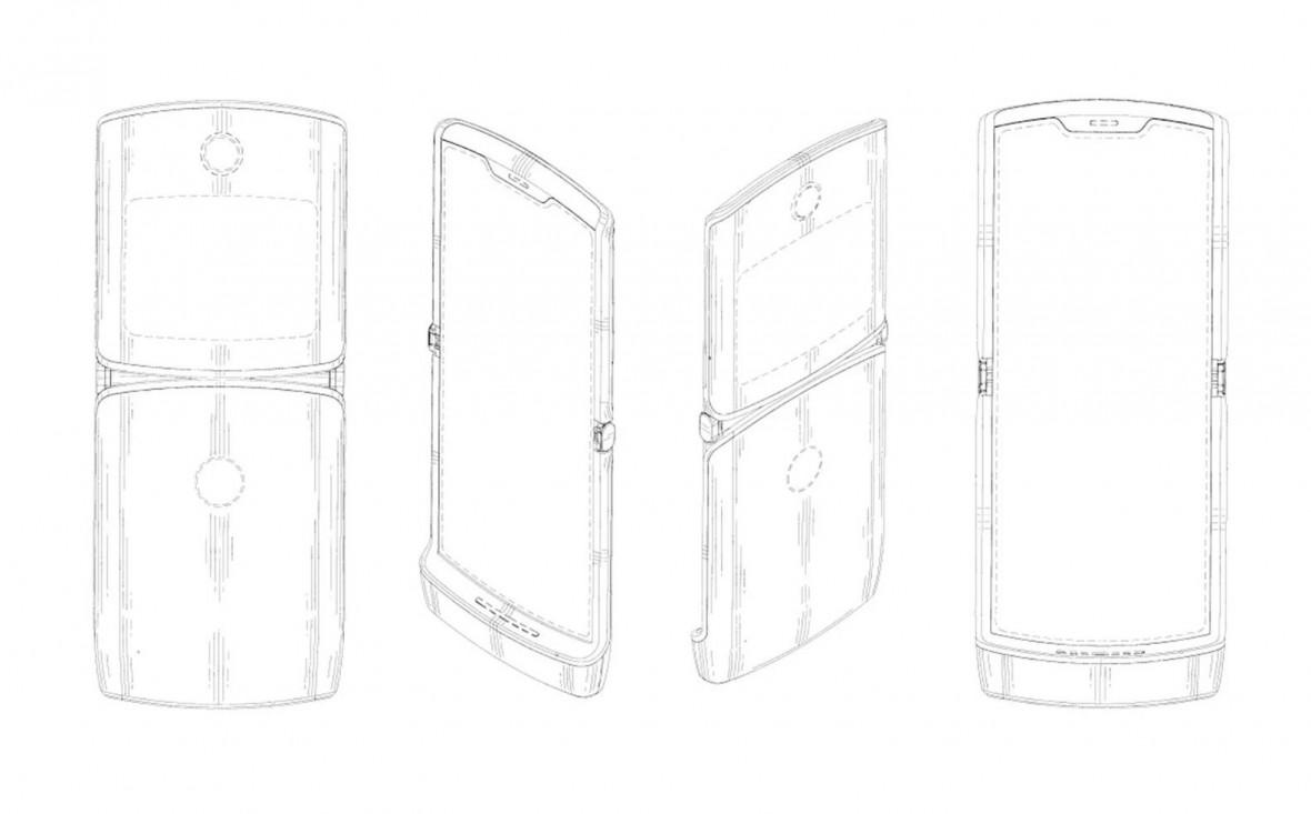 Nadchodzą składane Motorola Razr i Oppo. Na pierwszych grafikach zginane ekrany robią wrażenie