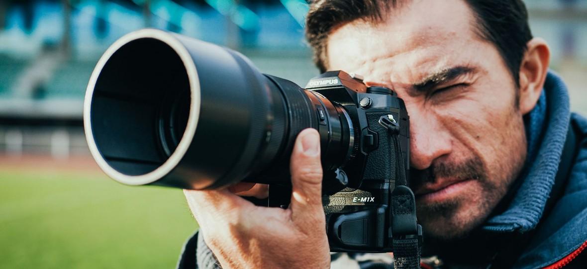 Olympus OM-D E-M1X to najbardziej zaawansowany aparat tej firmy